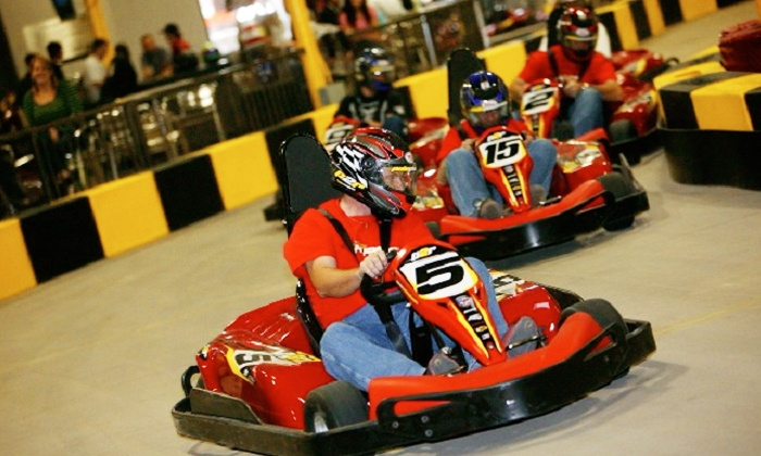 Pole Position Raceway - Multiple Locations: $34.95 for Three Races, One-Year Racing License, and Two Drinks at Pole Position Raceway ($69.80 Value)