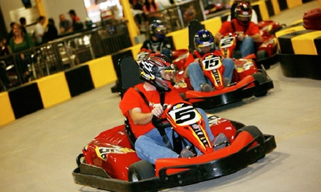 $34.95 for Three Go-Kart Races and a One-Year Go-Kart Racing License at Pole Position Raceway ($65.80 Value)