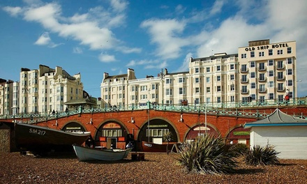 Brighton: 1-Night 4* Stay with Bubbly • Holiday deals The Old Ship Hotel