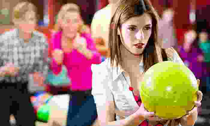 Country Club Lanes - Arden - Arcade: Unlimited Bowling at Country Club Lanes (Up to 92% Off). Two Options Available.