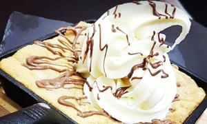 Sapores Desserts: Choice of Dessert and Hot Drink for Up to Four at Sapores Desserts (Up to 57% Off)