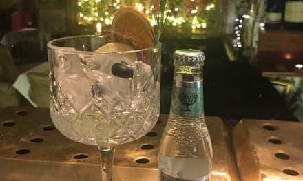 Afternoon Tea with Crystal Glass Gin Experience for Two or Four at AMPM Bohemian Restaurant