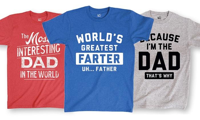 Men's Dad Tees