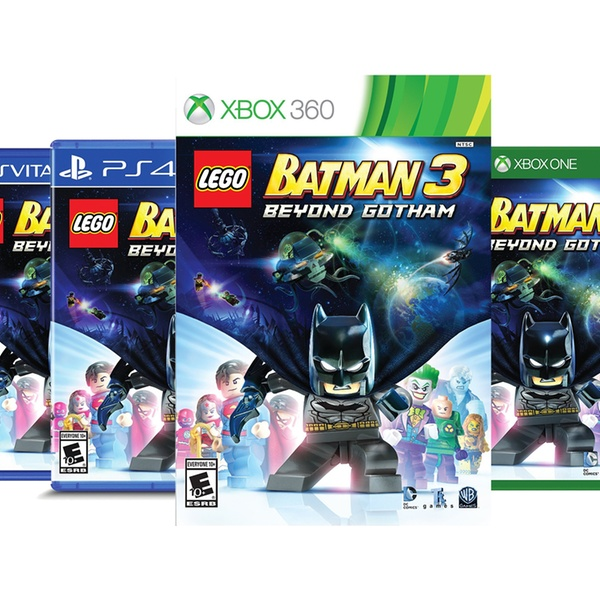Lego Batman 3: Beyond Gotham for PS3, PS4, PS Vita, 3DS, Wii U, Xbox 360,  or Xbox One