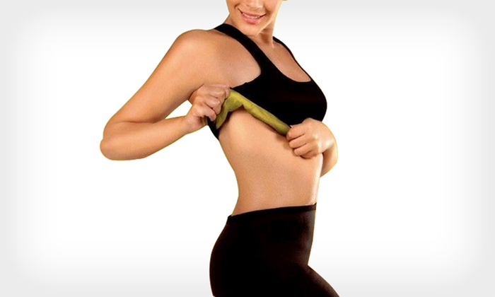 SaunaFit Slimming Bra & Pants | Groupon