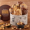 50% a Deluxe Moose Munch Premium Tin from Harry & David