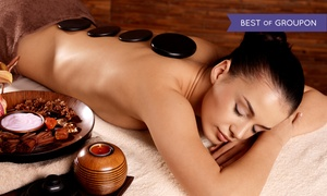 Philosophy Wellness Spa: Himalayan Salt-Stone Massage or Wellness Package with Massage and Facial at Philosophy Wellness Spa (Up to 49% Off)