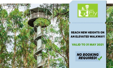 Otway Fly Treetop Walk: Child $14.40 or Adult $20 Entry Up to $25 Value Valid till 31st May 2021