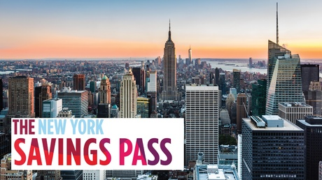 New York Savings Pass & Optional One-Day Double-Decker Bus Ticket from The Sightseeing Pass NYC (Up to 56% Off)
