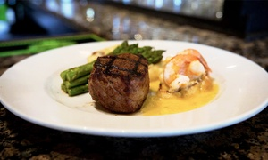 Houndstooth Grill and Tavern: Classic Steakhouse Food and Drinks at Houndstooth Grill and Tavern (Up to 50% Off)