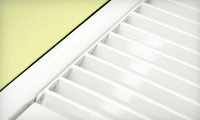 Absolute Clean HVAC - Pensacola / Emerald Coast: Air-Duct and Dryer-Vent Cleaning or 40-Point Air-Conditioner Inspection from Absolute Clean HVAC (Up To 82% Off)