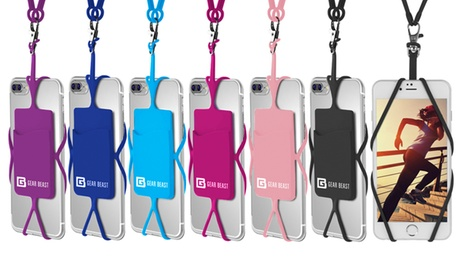 Gear Beast Universal Smartphone Lanyard Necklace and Wrist Strap