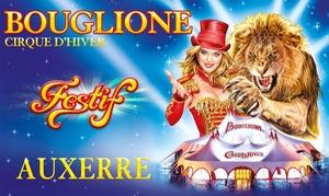 Cirque d'hiver Bouglione: 1 place adulte ou enfant pour la soirée spéciale ou le spectacle du Cirque d'hiver Bouglione à Auxerre dès 10 €