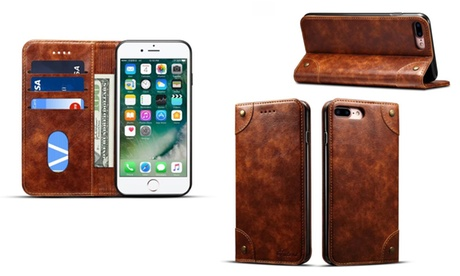 Funda estilo vintage para iPhone 6 Plus / 6S / 7 y 7 Plus Oferta en Groupon