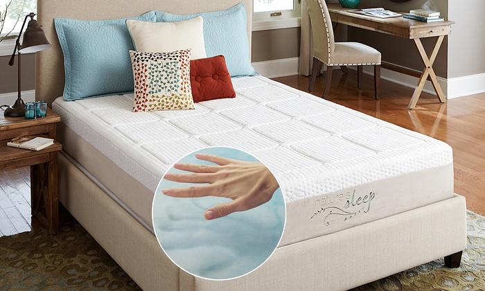 Nature S Sleep Gel Foam Mattress Groupon Goods