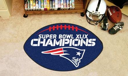 New England Patriots NFL Super Bowl XLIX Champions Mat