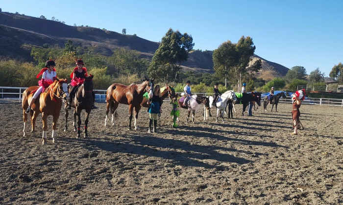 Megan Mahoney Riding Academy - San Juan Capistrano: One or Two Children's Personalized Horseback Riding Sessions at Megan Mahoney Riding Academy (Up to 50% Off)