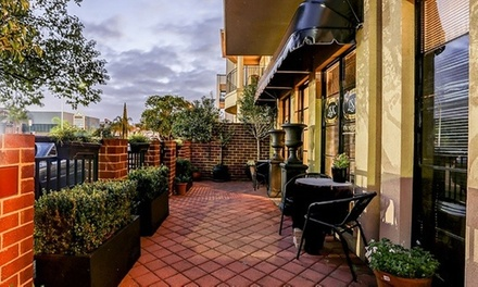 $99 for Spa Pamper Package with Cheese Platter, Bubbly & Refreshments for Two People at Luxe on Kensington Up to $214