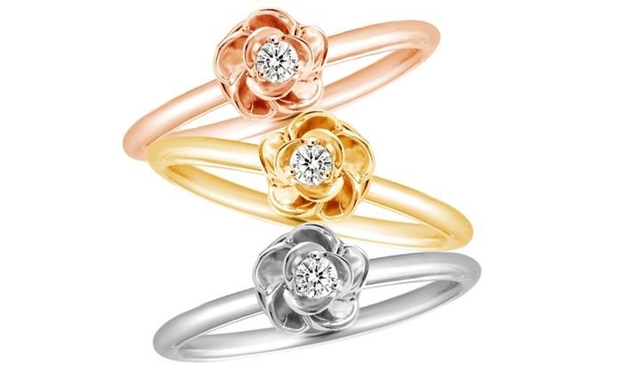 groupon bague diamant