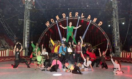 Entrada a Circo Wonderland para adulto o niño en Cartagena del 4 al 12 de noviembre por 7 €