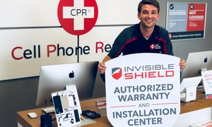 Up to 40% Off Screen Repair at CPR Cell Phone Repair at CPR Cell Phone Repair, plus 6.0% Cash Back from Ebates.