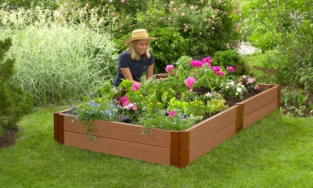 Frame it all garden bed groupon goods for Gardening 4 less groupon