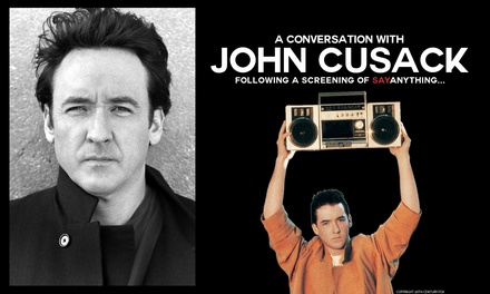 """John Cusack Live plus a screening of """"Say Anything"""" and Q&A onSeptember 13 at 7:30 p.m."""