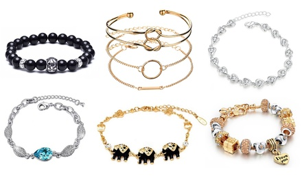 Bracelet in Choice of Design Made with Crystals from Swarovski®