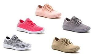 Mata Women's Lightweight Padded Monochromatic Sneakers