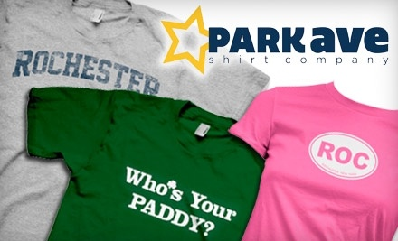 $50 Groupon to Park Ave Shirt Company - Park Ave Shirt Company in