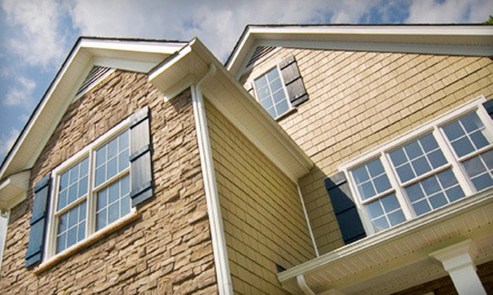 Washers of Windows - Eldorado Heights: Window Cleaning or Gutter Cleaning from Washers of Windows (Up to 70% Off). Four Options Available.