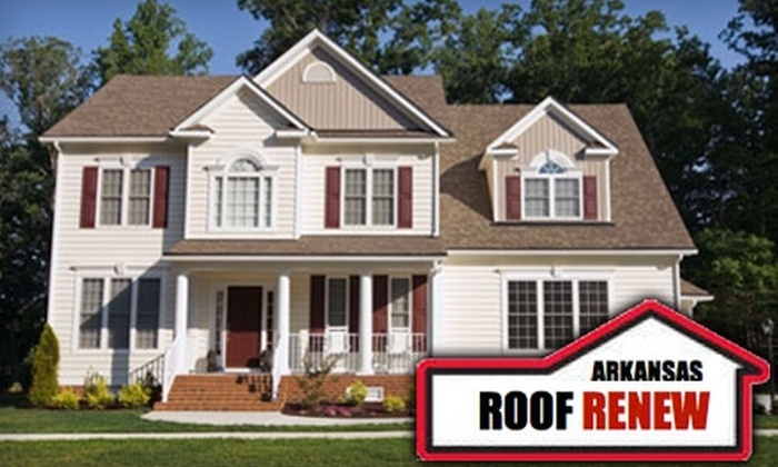 Arkansas Roof Renew - Little Rock: $20 for Gutter and Soffit Cleaning ($90 Value) or $25 for Exterior House Cleaning ($120 Value) from Arkansas Roof Renew