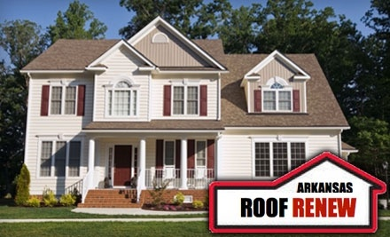 Arkansas Roof Renew: 75 Linear Feet Worth of Complete Gutter and Soffit Cleaning - Arkansas Roof Renew in
