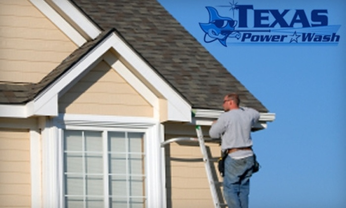 Texas Express Power Wash - Midland / Odessa: $40 for $80 Worth of Window and Gutter Cleaning from Texas Express Power Wash