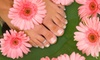 Queen Jane Nail Salon - Multiple Locations: $15 for Manicure and Pedicure at Queen Jane Nail Salon ($32 Value)