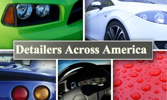 Detailers Across America - St. Charles: $50 Mobile Wax, Hand Wash, and Interior Cleaning Package at Detailers Across America ($165 Value)