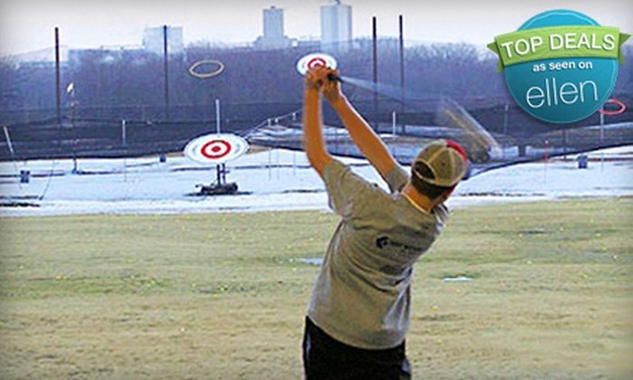 GolfZone - Chanhassen: Driving-Range Packages at GolfZone in Chaska (Up to 61% Off). Three Options Available.