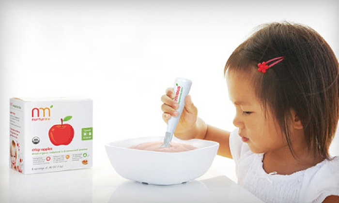 NurturMe - Lakeway: $34 for a Variety Six-Pack of 48 pouches of Organic Baby Food from NurturMe ($68.99 Value)