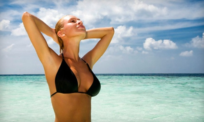 True Skin Spa - Delano: $149 for Three Laser Hair-Removal Treatments at True Skin Spa (Up to $720 Value)