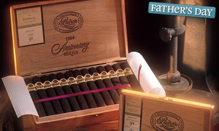 Three J's C-Cigar Emporium - Multiple Locations: Cigar Sampler Packs at Three J's C-Cigar Emporium