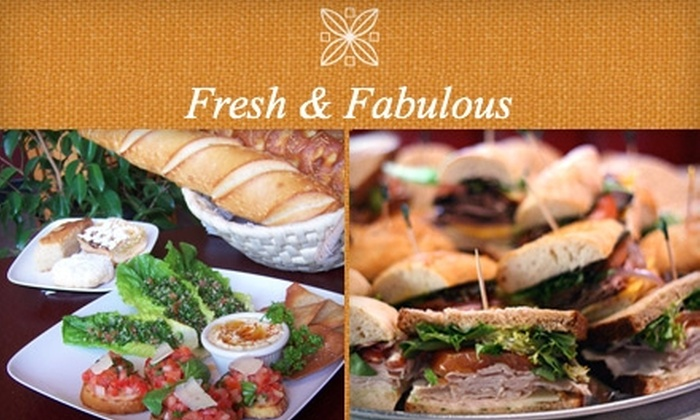 Fresh and Fabulous Cafe - Downtown Oxnard: $5 for $10 Worth of Mediterranean-Inspired Dining at Fresh & Fabulous Cafe in Oxnard