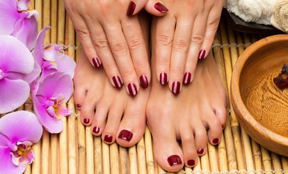 $35 for $56 Worth of Mani-Pedi — McLean Hair Fashions