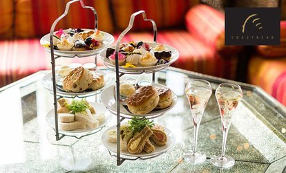 image for Premium Champagne Afternoon Tea at The Crazy Bear £25 (52% off)