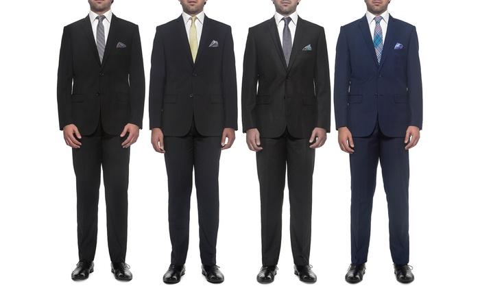 Nicole Miller Men's Slim Fit Separate Suit Jacket