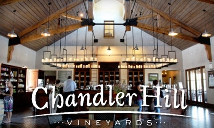 Chandler Hill Vineyards - Defiance: $17 for a Wine Tasting for Two and a Bottle of Wine at Chandler Hill Vineyards in Defiance ($35 Value)