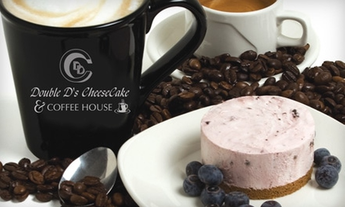 Double D's Cheesecake - St. Vital Centre: $5 for $10 Worth of Coffee, Cheesecake, and Other Pastries at Double D's Cheesecake