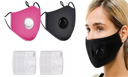 From $15 for Filters or Cotton Face Mask with Filters