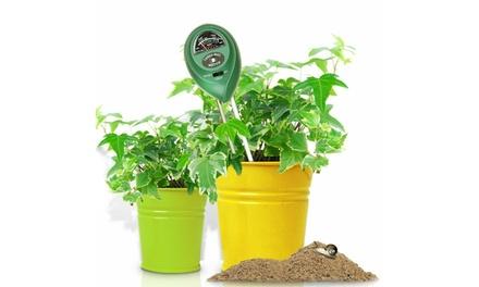 ThreeinOne Soil Moisture Test Kit: One $12.49 or Two $19