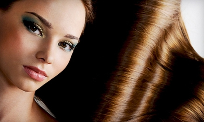 The Hair Lounge - Central Escondido: $149 for a Keratin Complex Blowout at The Hair Lounge in Escondido (Up to $300 Value)