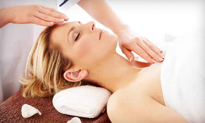 Asha Salon & Spa - Multiple Locations: Massage or Massage and Facial at Asha, an Aveda Lifestyle Salon & Spa